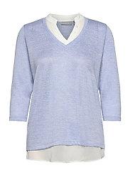 FRVEREXAN 1 Pullover - BRUNNERA BLUE MELANGE