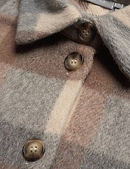 Fransa - FXTACHECK 3 Waistcoat - gevoerde vesten - oxford tan mix - 2