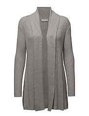 Zubasic 61 Cardigan - LIGHT GREY MELANGE