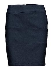 Zalin 3 Skirt - DARK PEACOAT