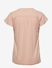 Fransa - Zawov 2 Blouse - t-shirts - misty rose - 1