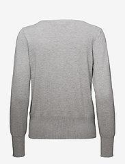 Fransa - Zubasic 60 Cardigan - cardigans - light grey melange - 1