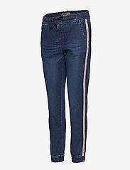 Fransa - Podobby 1 Jeans - straight jeans - simple blue denim - 2