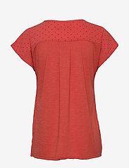 Fransa - Zawov 8 Top - blouses met korte mouwen - dot - baked apple - 1