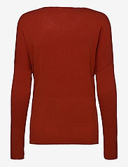 Fransa - ZUVIC 175 Pullover - jumpers - barn red - 1