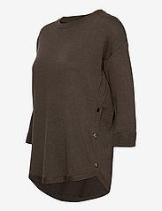 Fransa - ZUBASIC 109 Pullover - jumpers - green ink - 2