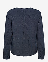 Fransa - FRHAZAVISK 1 Shirt - blouses met lange mouwen - navy blazer mix - 1