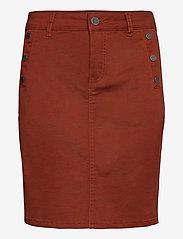 Fransa - FRLOMAX 3 Skirt - short skirts - burnt henna - 0
