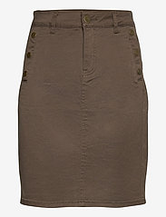 Fransa - FRLOMAX 3 Skirt - short skirts - green ink - 0