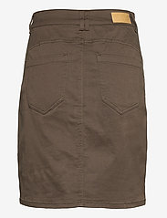 Fransa - FRLOMAX 3 Skirt - short skirts - green ink - 1