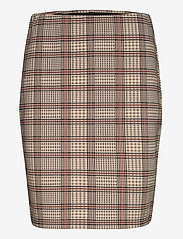 Fransa - FRLECHECK 2 Skirt - midi - barn red mix - 0