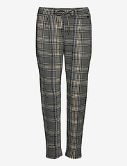 Fransa - FRLECHECK 4 Pants - slim fit bukser - della robbia blue mix - 0