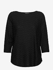 Fransa - FRLEJACQ 1 T-shirt - t-shirts - black - 0