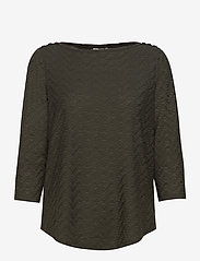 Fransa - FRLEJACQ 1 T-shirt - t-shirts - green ink - 0