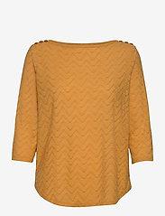 Fransa - FRLEJACQ 1 T-shirt - t-shirts - harvest gold - 0