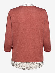 Fransa - FRLEREXAN 1 Blouse - jumpers - barn red melange - 1