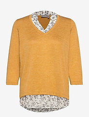 Fransa - FRLEREXAN 1 Blouse - jumpers - harvest gold melange - 0