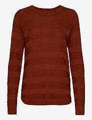 Fransa - FRLETAN 3 Pullover - jumpers - barn red - 0