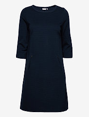Fransa - FRZARILL 3 Dress - midi jurken - dark peacoat - 0