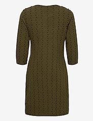 Fransa - FRMEVAR 1 Dress - alledaagse jurken - dark olive mix - 1
