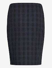 Fransa - FRMECHECK 4 Skirt - pencil skirts - navy blazer mix - 1