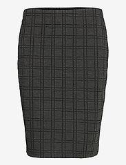 Fransa - FRMECHECK 4 Skirt - pencil skirts - raw melange - 0