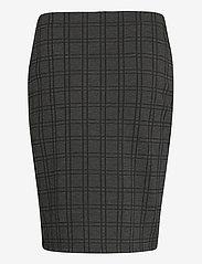 Fransa - FRMECHECK 4 Skirt - pencil skirts - raw melange - 1