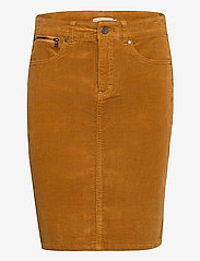 Fransa - FRMACORD 2 Skirt - pencil skirts - cathay spice - 0