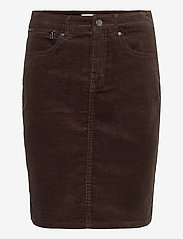 Fransa - FRMACORD 2 Skirt - pencil skirts - coffee bean - 0