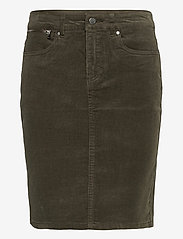 Fransa - FRMACORD 2 Skirt - pencil skirts - green ink - 0