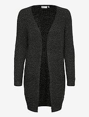 Fransa - FRMESANDY 2 Cardigan - cardigans - black melange - 0