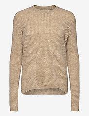 Fransa - FRMEBLOCK 1 Pullover - jumpers - beige melange - 0