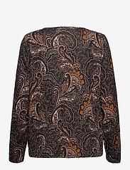 Fransa - FRMESOFT 1 Pullover - pitkähihaiset t-paidat - black paisley mix - 1