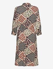 Fransa - FXSUTRIPE 7 Dress - midi jurken - navy blazer mix - 1