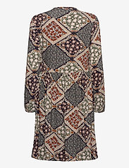 Fransa - FXSUTRIPE 8 Dress - midi jurken - navy blazer mix - 1