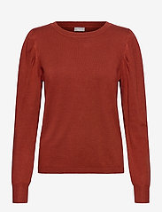 Fransa - ZUBASIC 130 Pullover - jumpers - burnt henna - 0