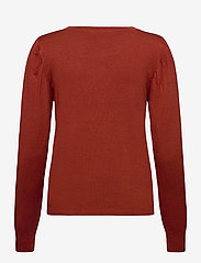 Fransa - ZUBASIC 130 Pullover - jumpers - burnt henna - 1