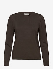 Fransa - ZUBASIC 130 Pullover - jumpers - green ink - 0