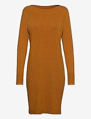 Fransa - ZUBASIC 131 Dress - gebreide jurken - cathay spice - 0