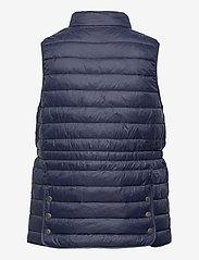 Fransa - FRPAPADDING 2 Outerwear - puffer vests - dark peacoat - 1