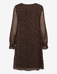 Fransa - FRMALEO 1 Dress - korte jurken - chocolate fondant mix - 2