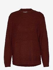Fransa - FRLEMERETTA 1 Pullover - jumpers - burnt henna melange - 0