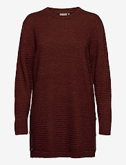 Fransa - FRMERETTA 3 Pullover - jumpers - burnt henna melange - 0