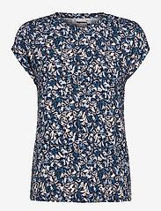 Fransa - FRPESEEN 1 T-shirt - t-shirts - navy blazer mix - 0