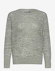 Fransa - FRPERIDGE 2 Pullover - jumpers - lily pad mix - 0