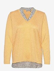 Fransa - FRPEREXAN 1 Pullover - jumpers - ochre melange - 0