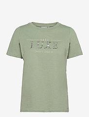 Fransa - FRPETEE 1 T-shirt - t-shirts - lily pad - 0