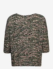 Fransa - FRPETRIBE 2 T-shirt - pitkähihaiset t-paidat - green animal mix - 1