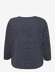 Fransa - FRVEJACQ 1 Blouse - blouses met lange mouwen - navy blazer mix - 1