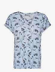 FRVEIREG 1 T-shirt - CASHMERE BLUE MIX